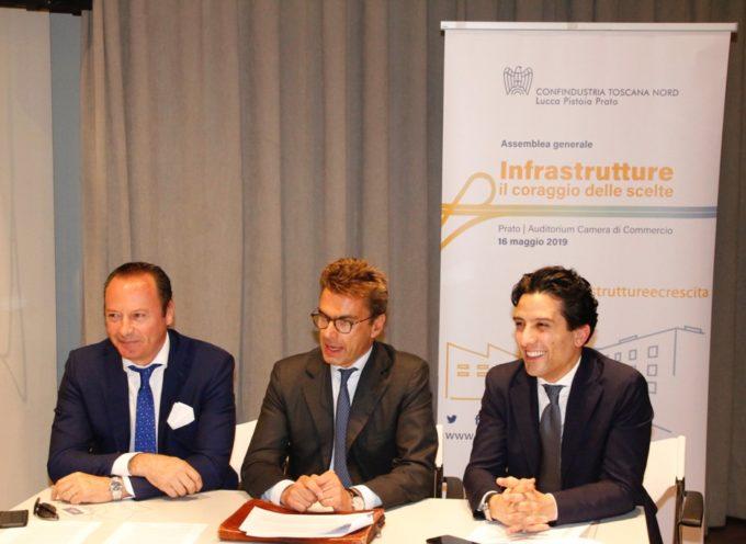 L'assemblea di Confindustria Toscana Nord: Giulio Grossi confermato alla presidenza;