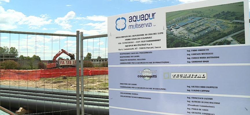 CAPANNORI – Al via i lavori per il depuratore di Casa del Lupo