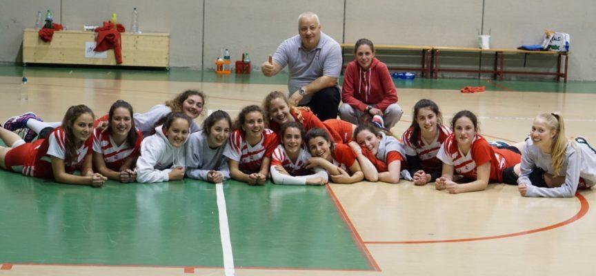 La Polisportiva Volley Capannori nell'ultima giornata del torneo under 17 femminile batte Pescia