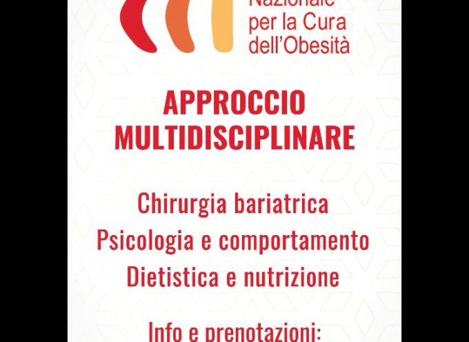 """La chirurgia bariatricadell'IRCCS PoliclinicoSan Donatodi Milano,per la curadell´obesità (INCO), approda a Lucca""""."""