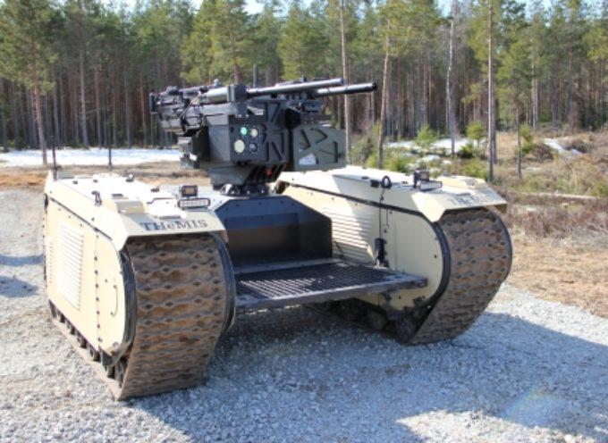 I sistemi robotici militari creeranno distruzione nei campi di battaglia secondo i risultati di uno studio di Milrem Robotics