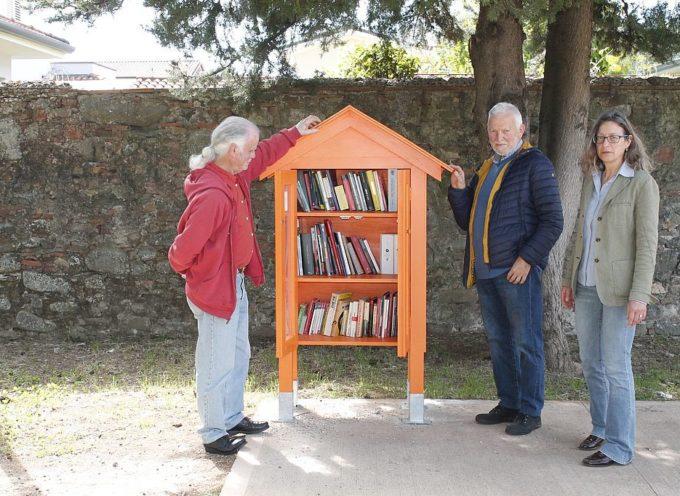 Inaugurata nel parco del Museo Athena la'Casa del libro'