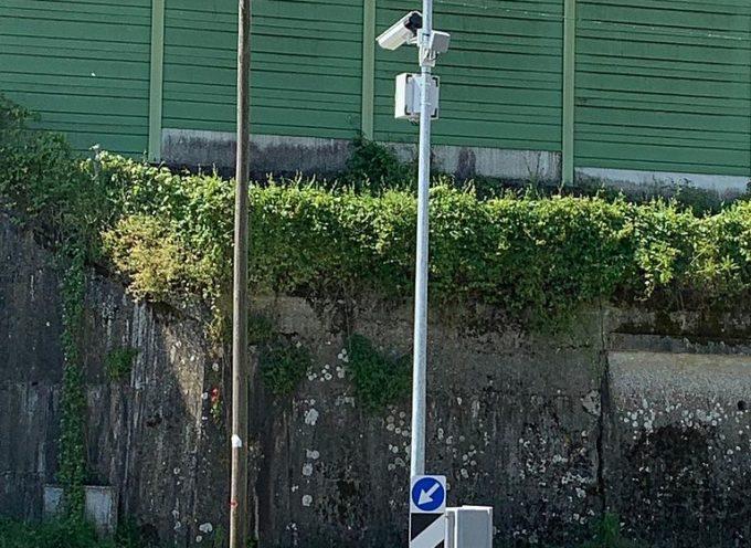 Installate le telecamere in via di Carraia per liberare Carraia, Parezzana e Toringo dal traffico dei Tir di attraversamento