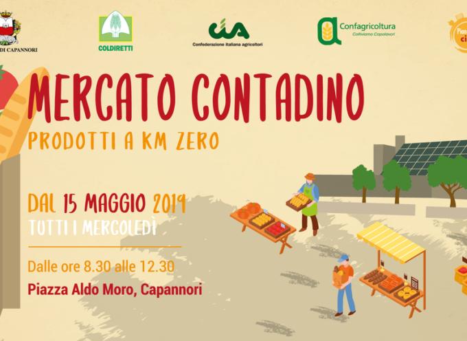 CAPANNORI – Da mercoledì 15 maggio piazza Aldo Moro ospiterà un mercato contadino di filiera corta