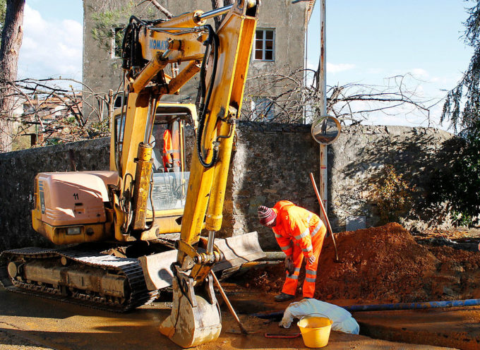 Al via i lavori dell'acquedotto a San Ginese.