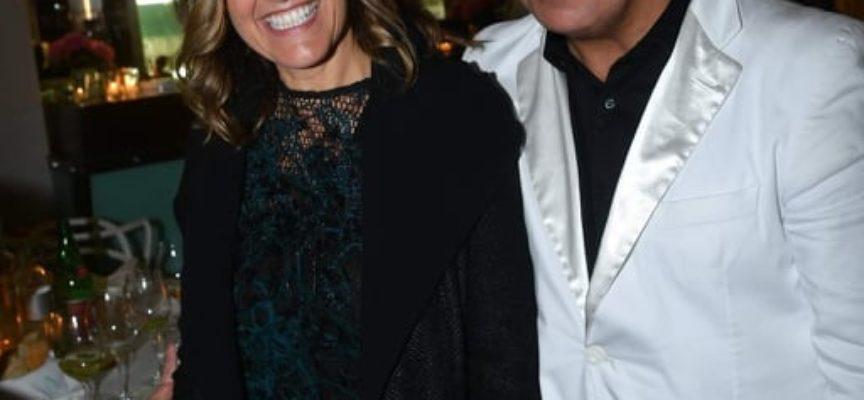 Dino Mancino e Irene Grandi duettano all´Alpemare di Forte dei Marmi, il locale di Andrea Bocelli