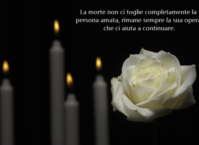 Un grave lutto ha colpito la famigla dell' l'avvocato Gian Marco Romani: