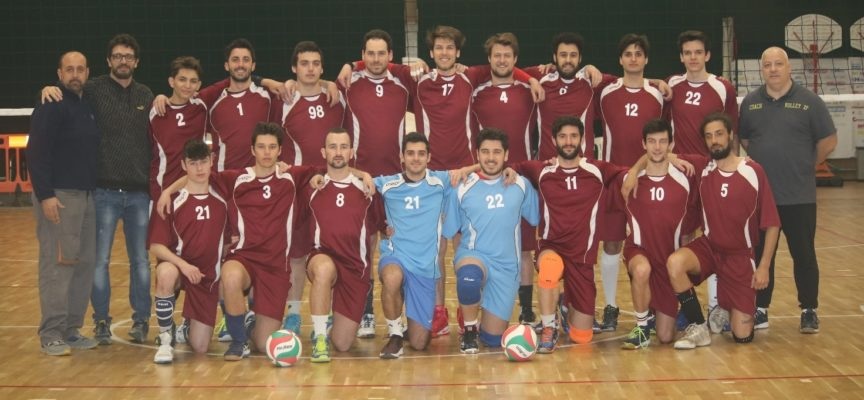 PALLAVOLO nella 1.a divisione maschile il Volley 2P batte i grossetani e conquista in anticipo i playoff