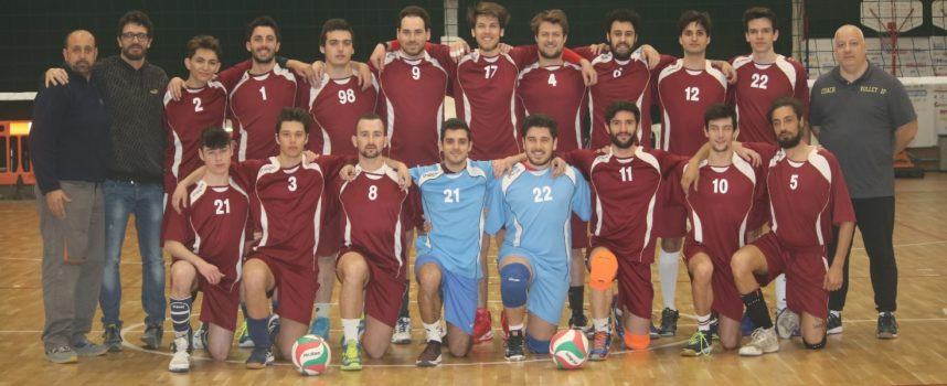 VOLLEY 1.a Divisione maschile il Volley 2P PanteraPorcari chiude in bellezza e ora attende i playoff