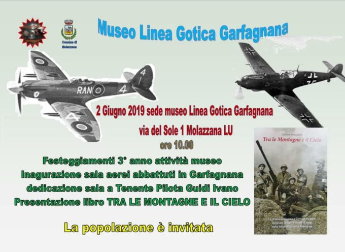 Museo Linea Gotica Garfagnana: inaugurazione della sala degli aerei abbattuti in Garfagnana