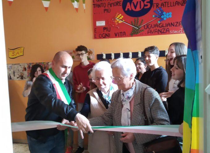 STAZZEMA – Inaugurata  la biblioteca scolastica dedicata alla più giovane vittima della strage di Sant'Anna di Stazzema