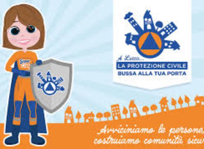 A Lucca…la Protezione Civile bussa alla tua porta!