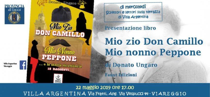 """A Villa Argentina """"rivivono"""" Peppone e Don Camillo nei 18 racconti di Donato Ungaro"""
