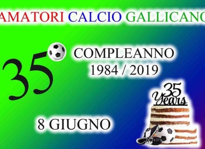 35° compleanno per gli Amatori di Gallicano: Festa al Campo Sportivo