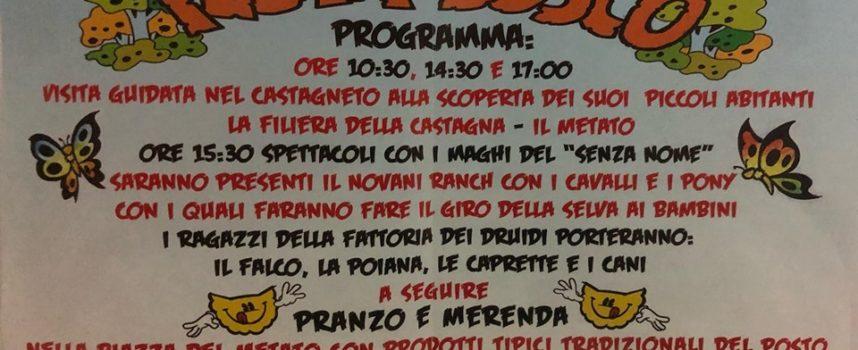 Festa del Bosco nel Canalverde a Pomezzana, non perdetevi gli ultimi due appuntamenti di maggio!