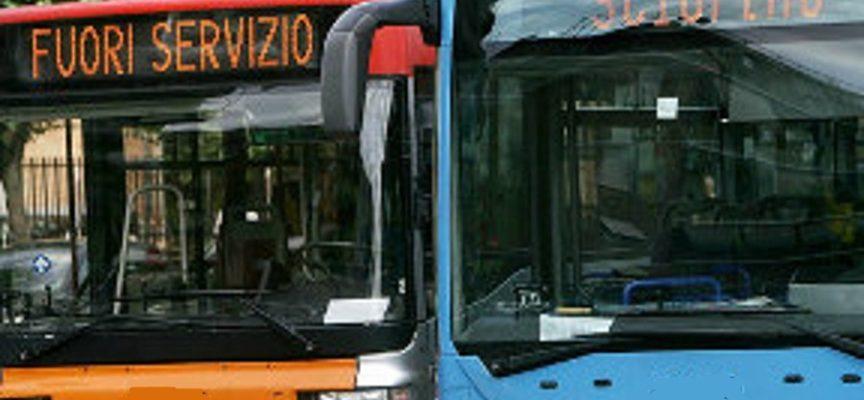 SCIOPERO GENERALE BUS, VENERDÌ 17 MAGGIO 4 ORE DI STOP AL SERVIZIO