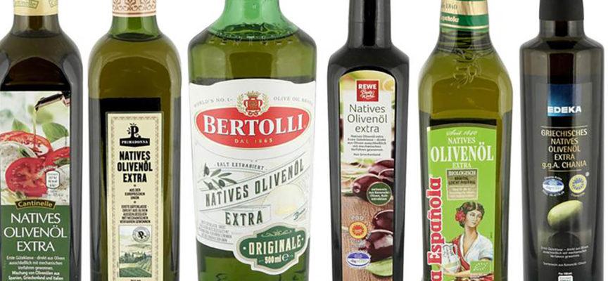 Olio extravergine di oliva, rilevati idrocarburi e plastificanti. Le MARCHE migliori e peggiori