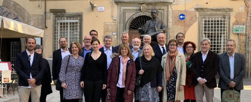 A Lucca la riunione dei direttori e dei responsabili delle case natali europee