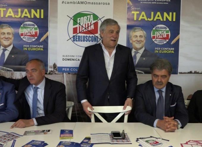 """Il Presidente Tajani in Versilia: """"Possibile procedura infrazione per la proroga delle concessioni"""""""
