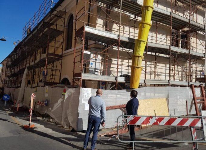 PIETRASANTA – dal 1 luglio stop ai ponteggi nel centro storico