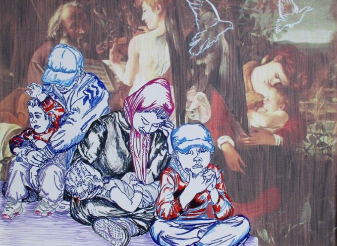 """Orizzonti di pace – Famiglie in cammino"""": dal 10 al 20 luglio 2019 ai Musei di San Salvatore in Lauro, a Roma, le opere dell'artista Carlo Carli sul tema delle migrazioni e delle crisi umanitarie contemporanee"""