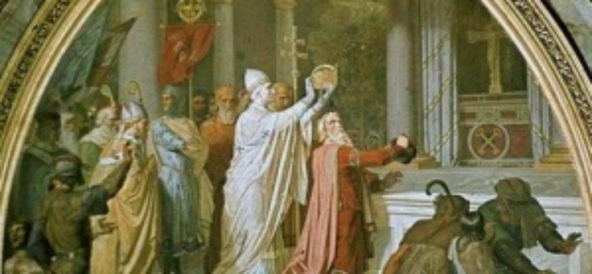 Il Santo del giorno, 12 giugno: Papa Leone III, che incoronò Carlo Magno