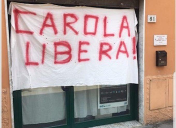 Il Presidente del PCA di Pietrasanta, Luca Bonci, sull'affissione dello striscione