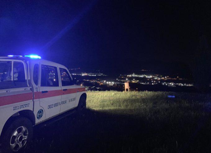 Controlli notturni della Croce Verde di Porcari per prevenire incendi boschivi in Torretta