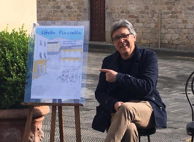 Effetto Piazzetta Un Crocchio di Chiacchiere –  Camaiore Piazza Diaz