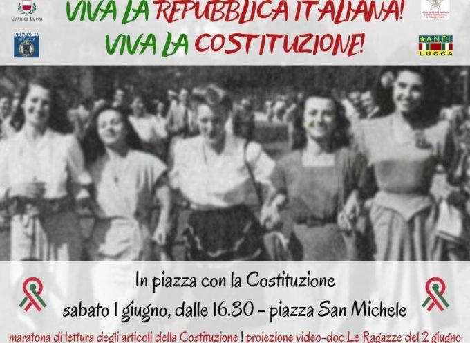 VIVA LA COSTITUZIONE! VIVA LA REPUBBLICA ITALIANA!