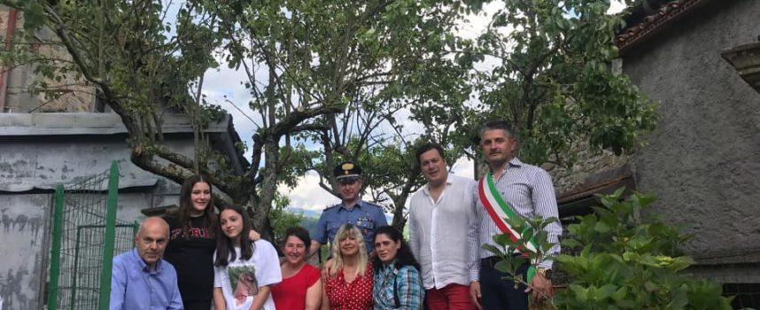 CASTIGLIONE DI GARFAGNANA – Inaugurazione panchina rossa a Mozzanella.