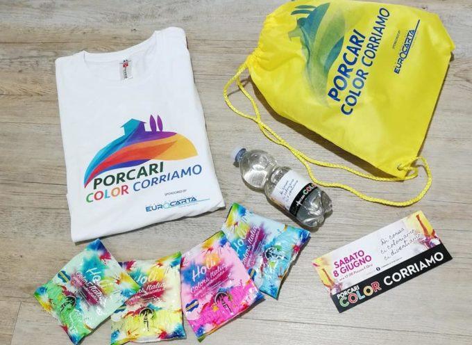 Manca pochissimo a Sabato 8 Giugno e alla nuova edizione della Porcari ColorCorriamo!!