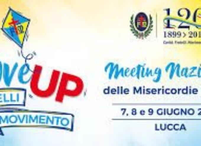 A Lucca si festeggiano i 120 anni di vita della Confederazione Misericordie d'Italia.