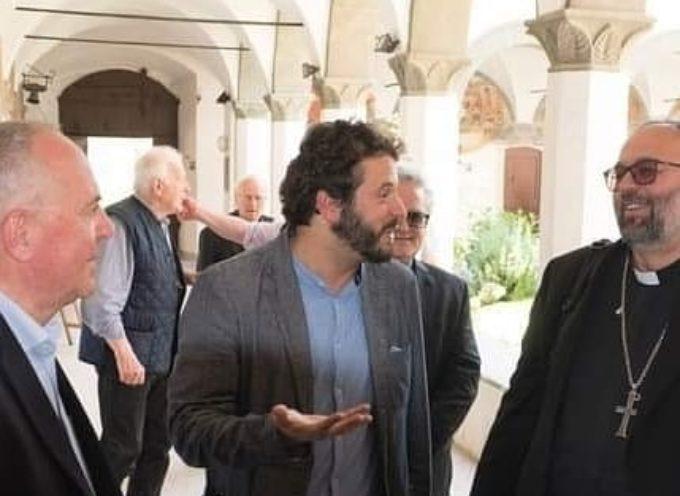 Oggi a Borgo, presso il Convento di San Francesco, è venuto in visita il Vescovo Paolo.