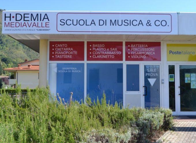 La scuola di Musica HDemia a Diecimo presenta il saggio di fine anno; Borgo a Mozzano