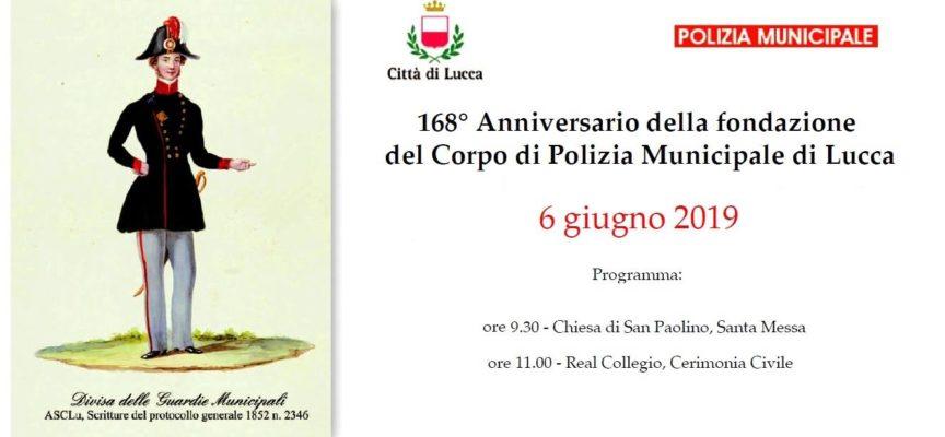 lucca – 168° anniversario dalla fondazione del Corpo di Polizia Municipale.