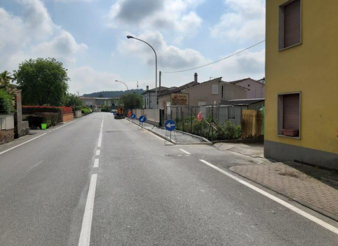 PORCARI – Come annunciato va avanti l'opera di potenziamento della rete dei marciapiedi.