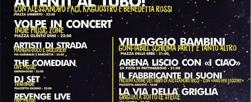 STASERA 14 giugno torna la Notte Bianca di Castelnuovo di Garfagnana.
