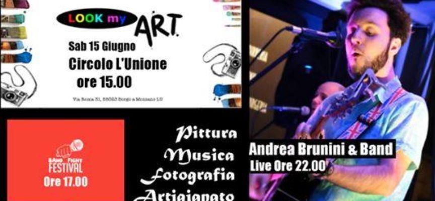 Concerto serale del cantautore toscano Andrea Brunini a Borgo a Mozzano