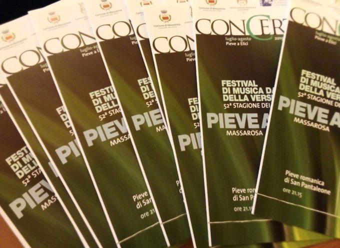 Questa mattina presentato il programma  della 52ª edizione del Festival di musica da camera della Versilia,