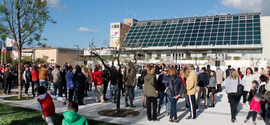 CAPANNORI – La nuova piazza Aldo Moro è stata scelta come set di un film!
