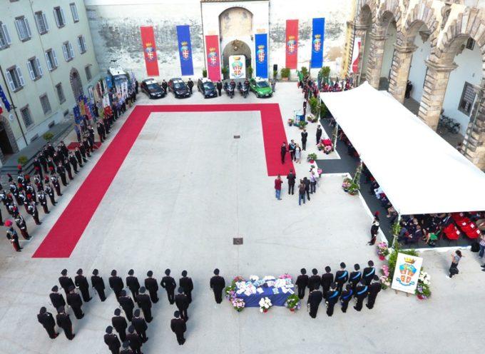 I carabinieri celebrano il 205esimo anniversario di fondazione dell'Arma