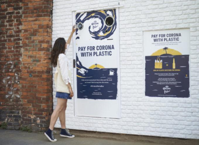 Corona scambia vendite per plastica