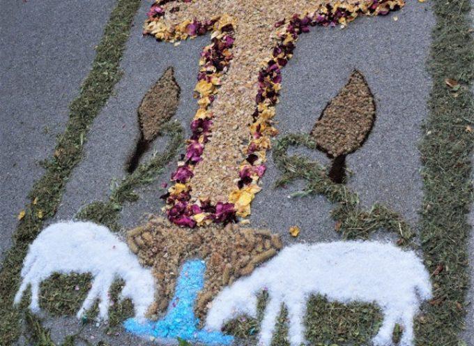 13° INFIORATA DEL CORPUS DOMINI A TURRITECAVA -GALLICANO