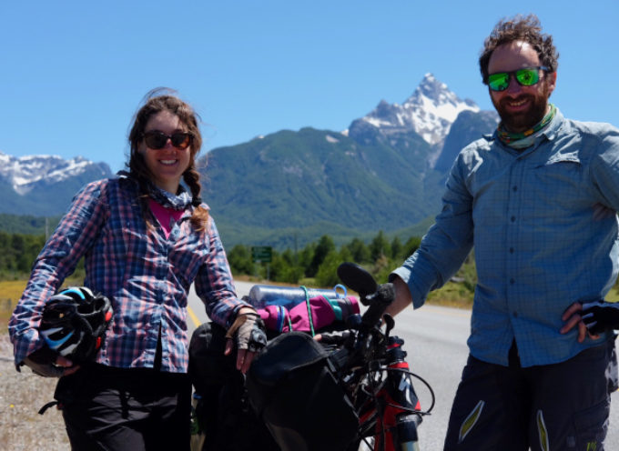 In bicicletta per 2000 km da San Carlos de Bariloche  sino ad Ushuaia: incontro al Fotocine Garfagnana