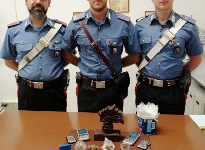 lucca – Una ragazza italiana, 29enne, è stata arrestata dai Carabinieri  per detenzione di stupefacenti ai fini di spaccio.