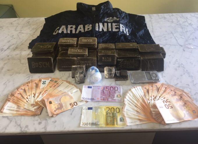 Carabinieri della Compagnia di Castelnuovo di Garfagnana: una complessa e articolata attività investigativa ha stroncato traffico di droga