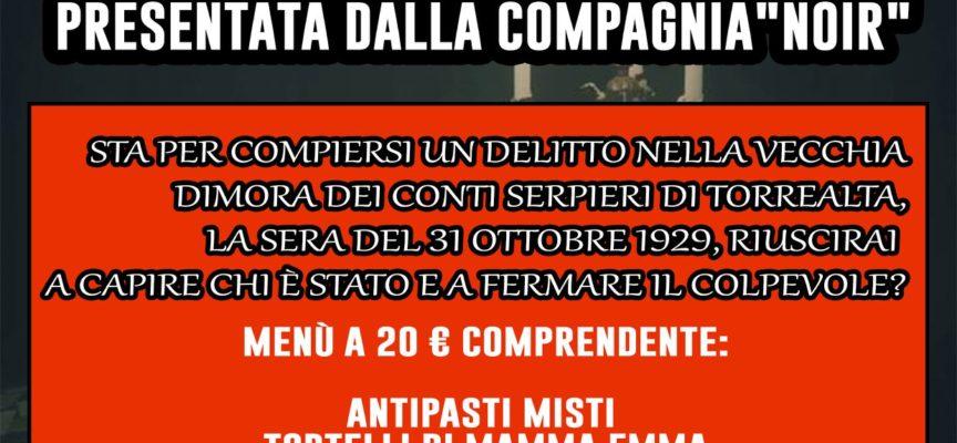 """Aido Seravezza, Stazzema, Forte dei Marmi organizza """"La Cena con Delitto"""". E' necessario prenotare."""
