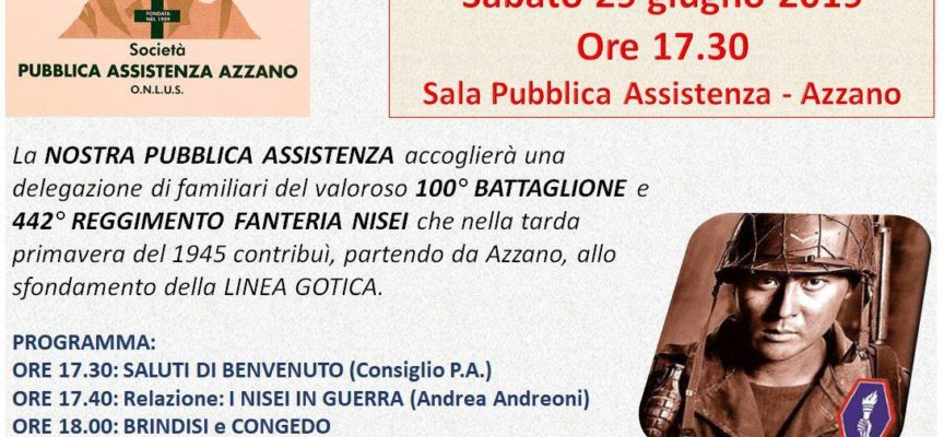 Pubblica Assistenza Azzano – 29 giugno ospite una delegazione di familiari dei combattenti che hanno contribuito allo sfondamento della Linea Gotica