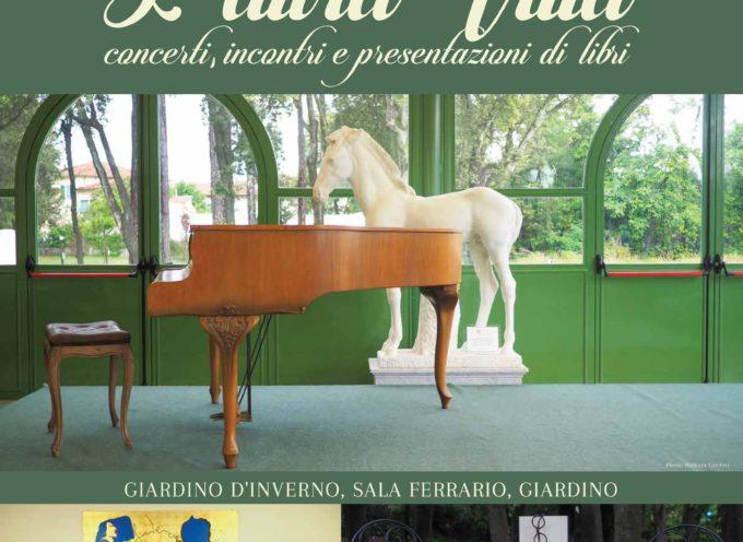 """Villa Bertelli presenta:  """"L'altra Villa """"  un calendario di eventi extra per l'estate."""
